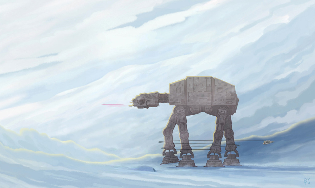 "PJ Mcquade ""AT-AT Walker Takedown"""