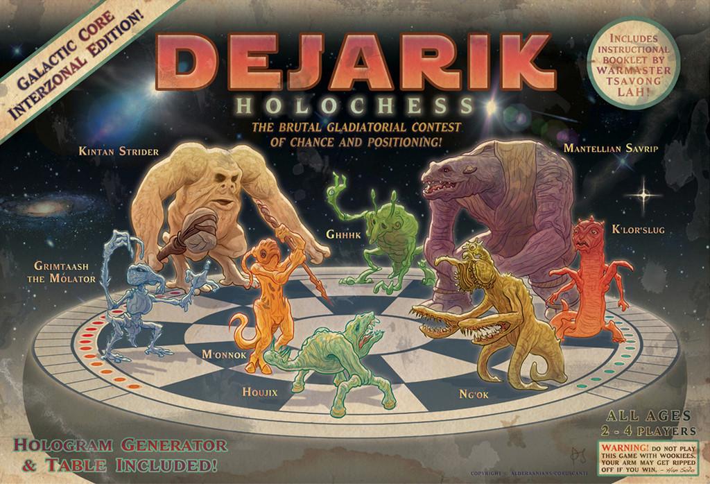 "PJ Mcquade ""Dejarik Holochess Game"""