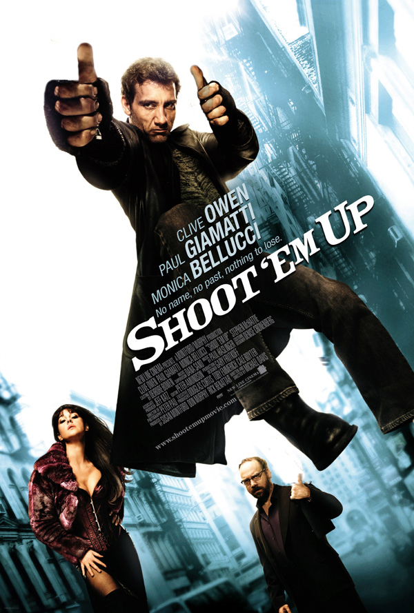 Shoot Em Up movie poster onesheet