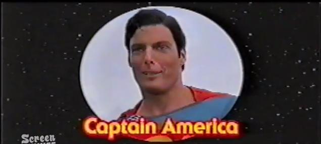 captain america superman