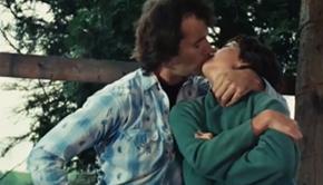 bill murray kiss
