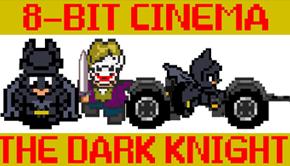 dark knight 8 bit