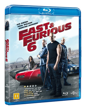 fast & furious 6 cover