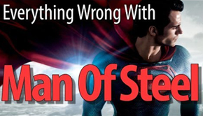 wrong man of steel alle fejl