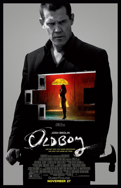 oldboy remake poster