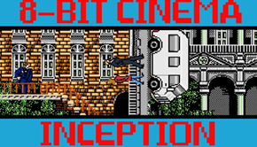 inception 8 bit cinema