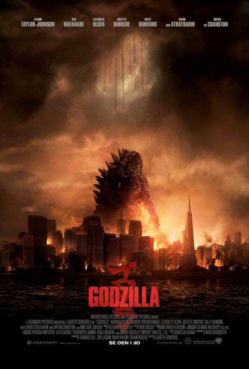 Godzilla 2014 poser