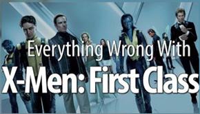 x-men first class wrong