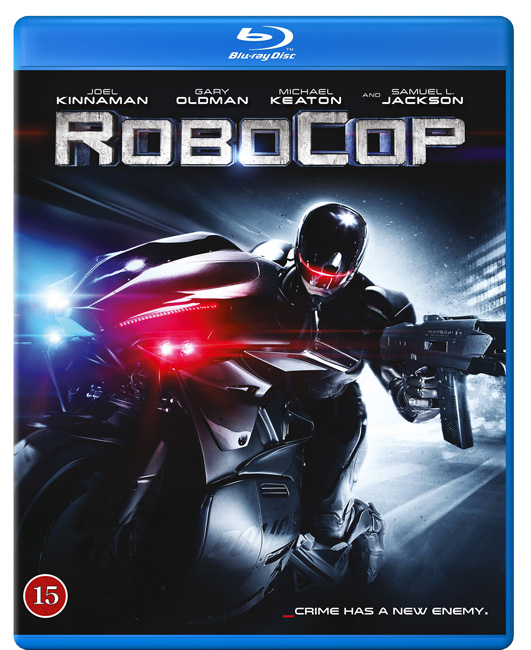 Robocop remake cover