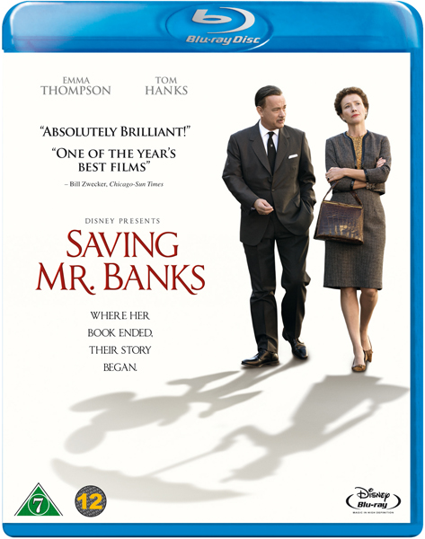 Saving Mr Banks cover