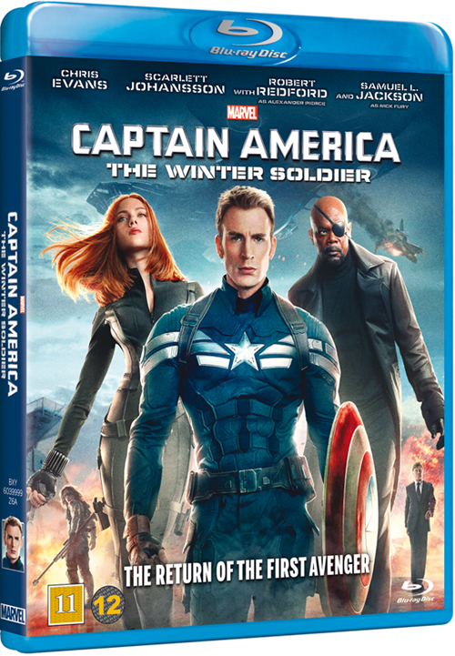 Captain America The Winter Soldier cover