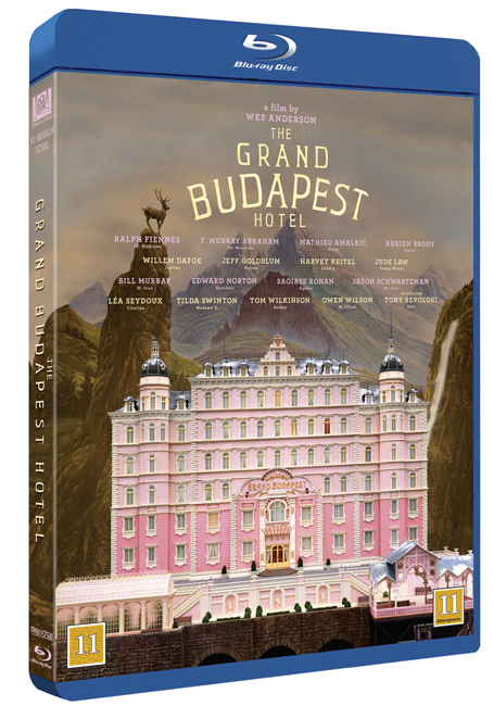 The Grand Budapest Hotel BD cover