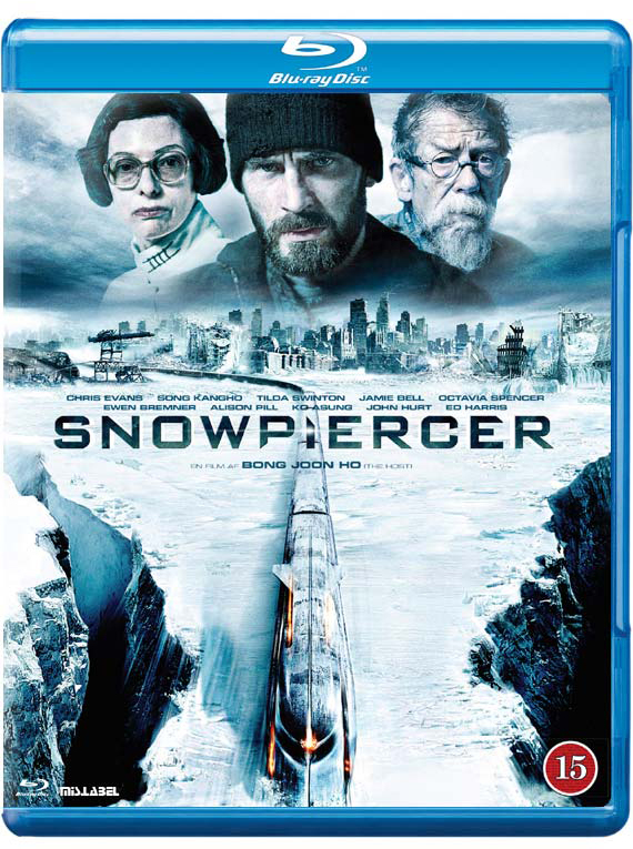 Snowpiercer blu-ray cover