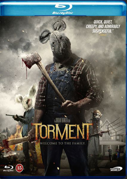 Torment Blu-day cover