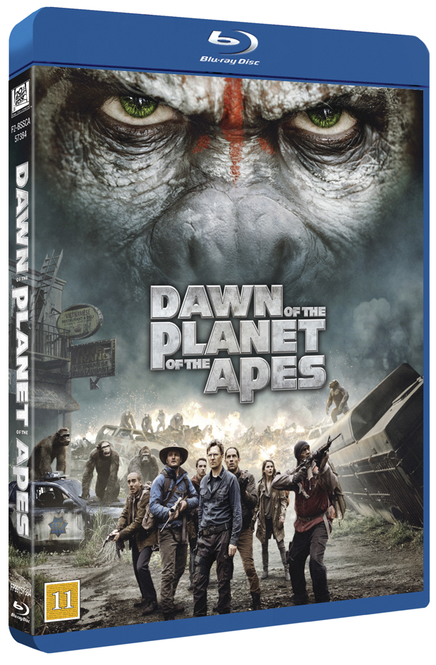Dawn of the Planet of the Apes BD cover