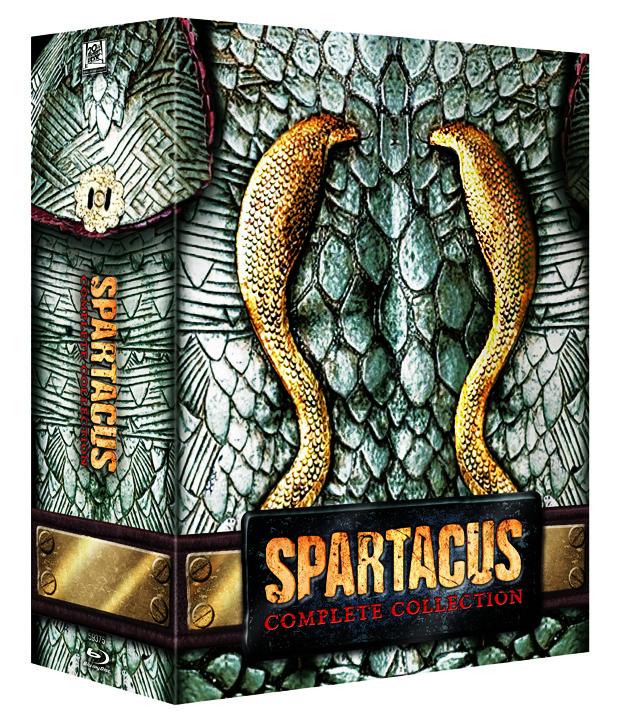 Spartacus serie cover