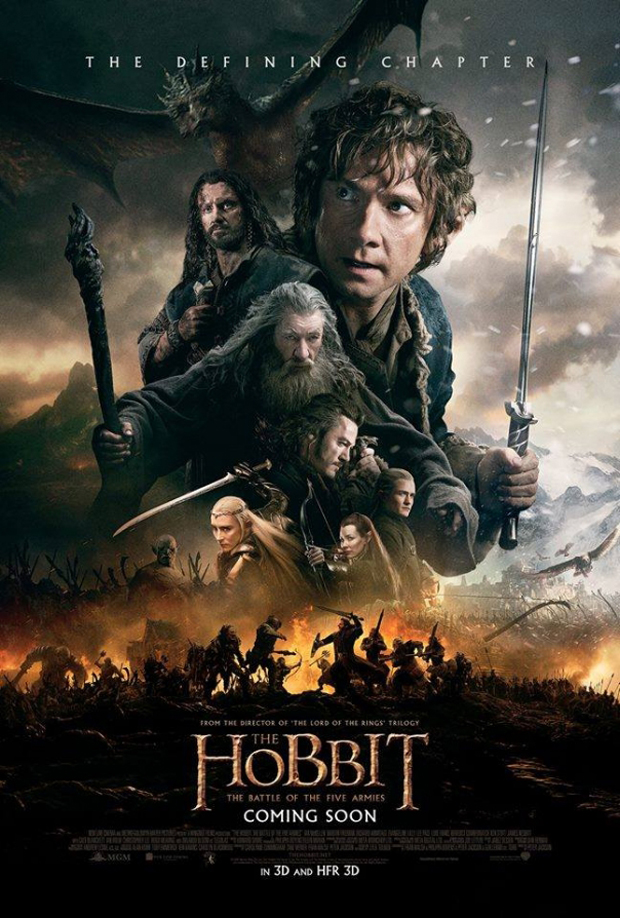 hobbitten five armies poster