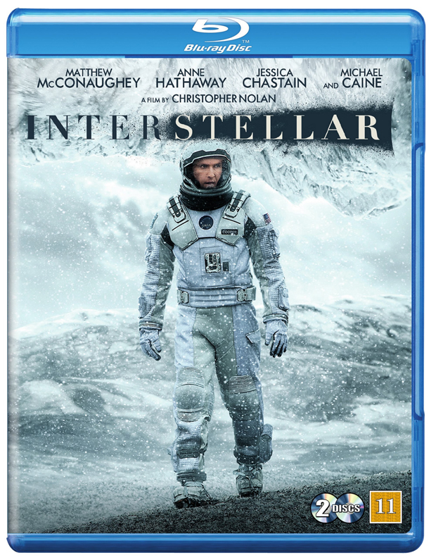 interstellar blu-ray cover