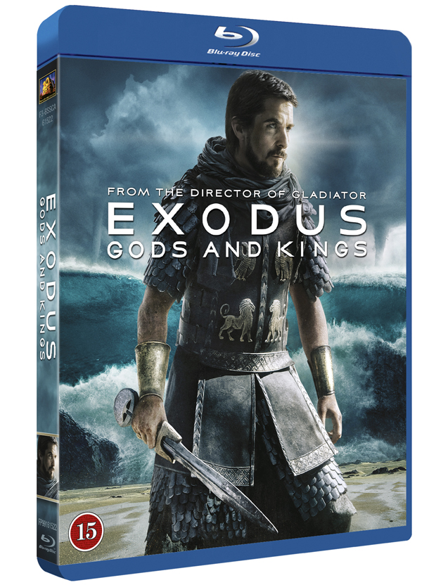 Exodus Gods And Kings bluray cover