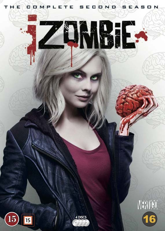 iZombie dvd cover