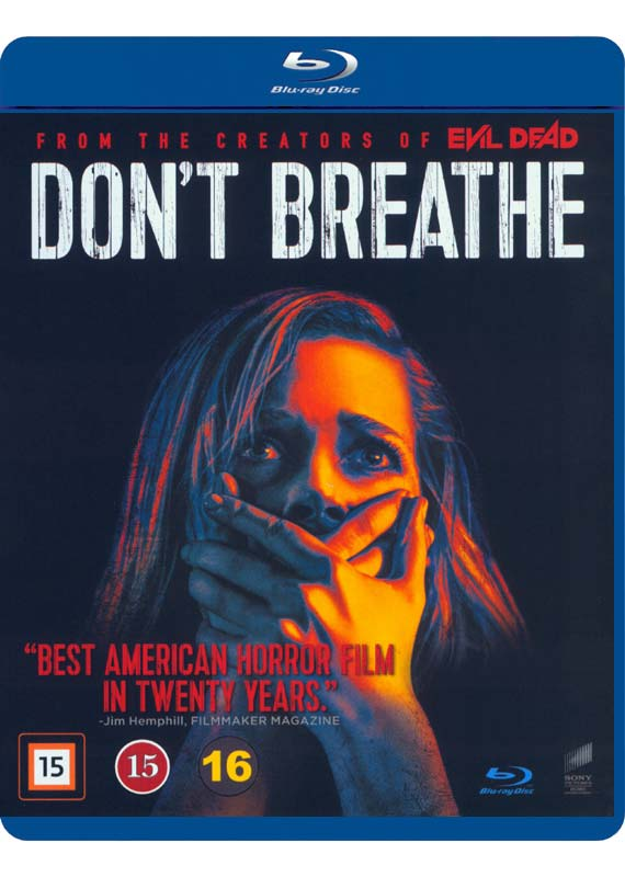 Don't Breathe blu-ray cover