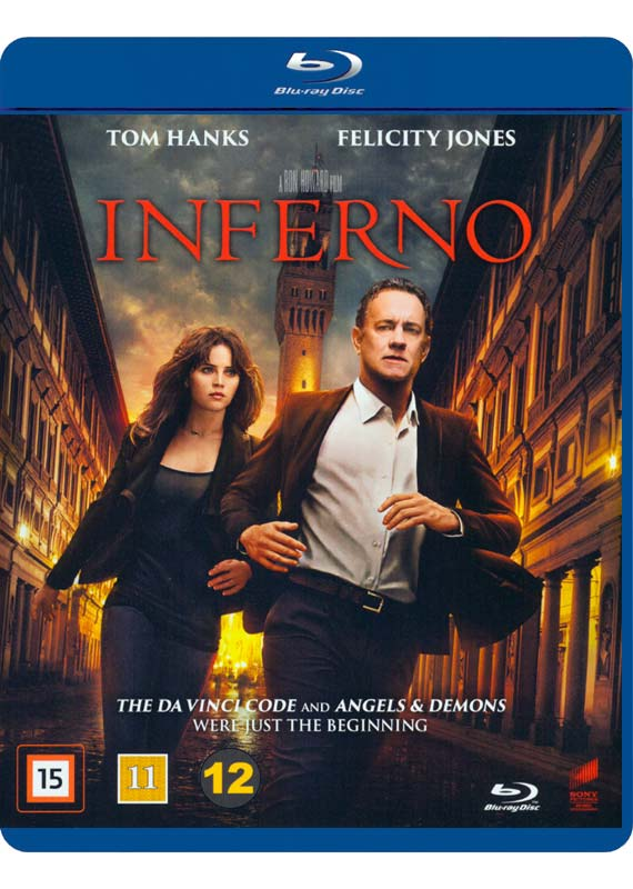 Inferno tom hanks blu-ray cover