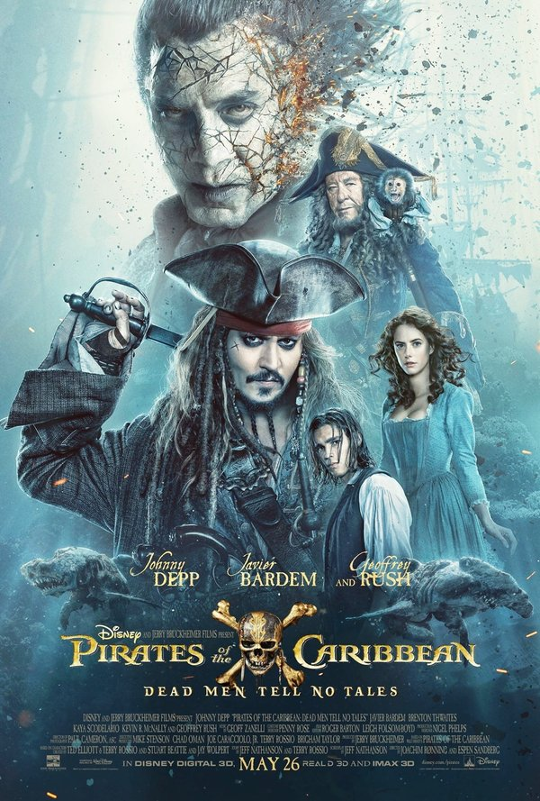 Pirates of the Caribbean Salazars Revenge poster