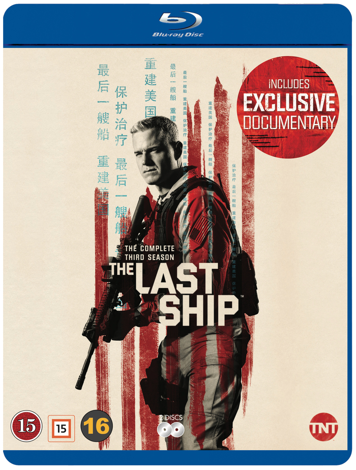 The Last Ship season 3 Blu-ray cover