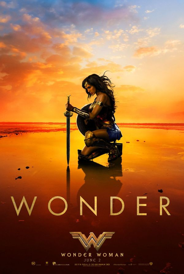 Wonder Woman biograf poster