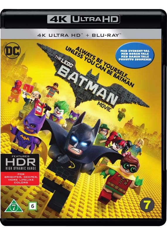 LEGO Batman Movie 4K cover