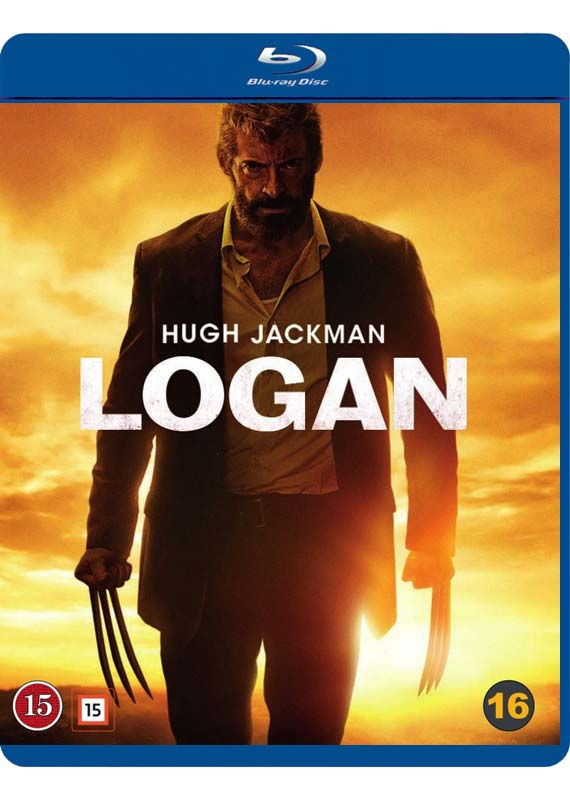 Logan Blu-ray cover