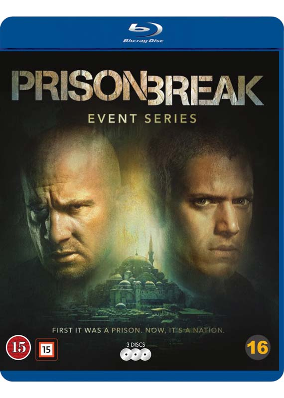 Prison Break event series cover