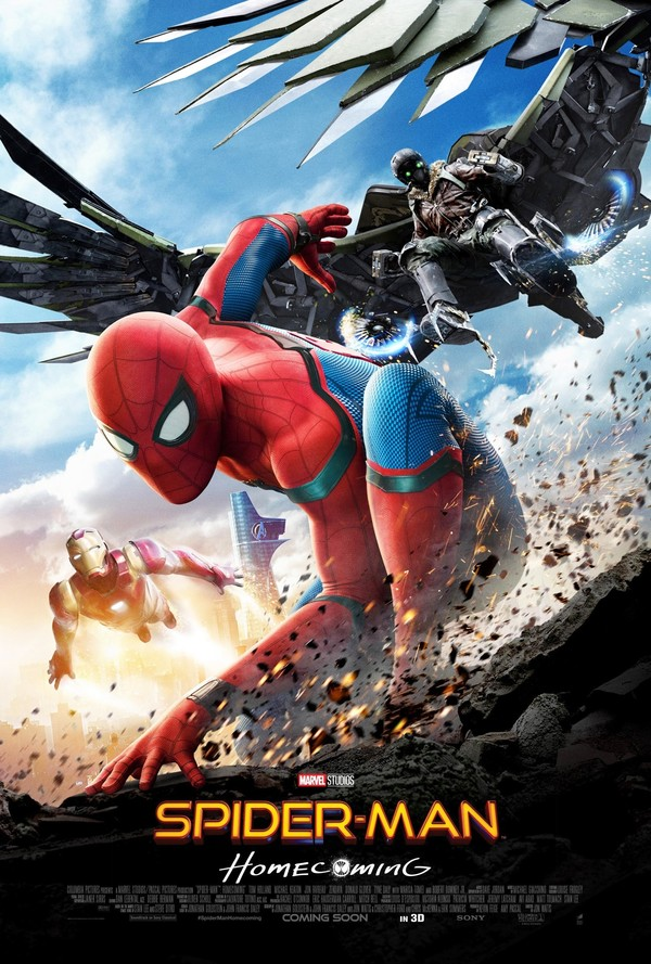 Spider-Man Homecoming biograf poster