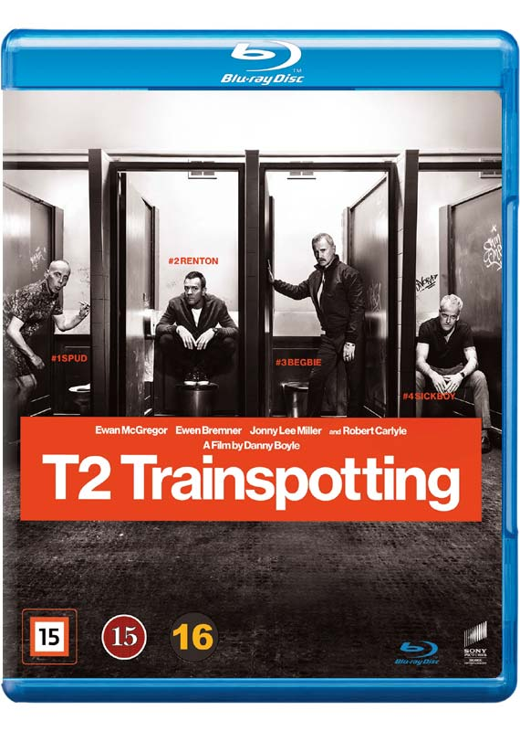 Trainspotting 2 Blu-ray cover
