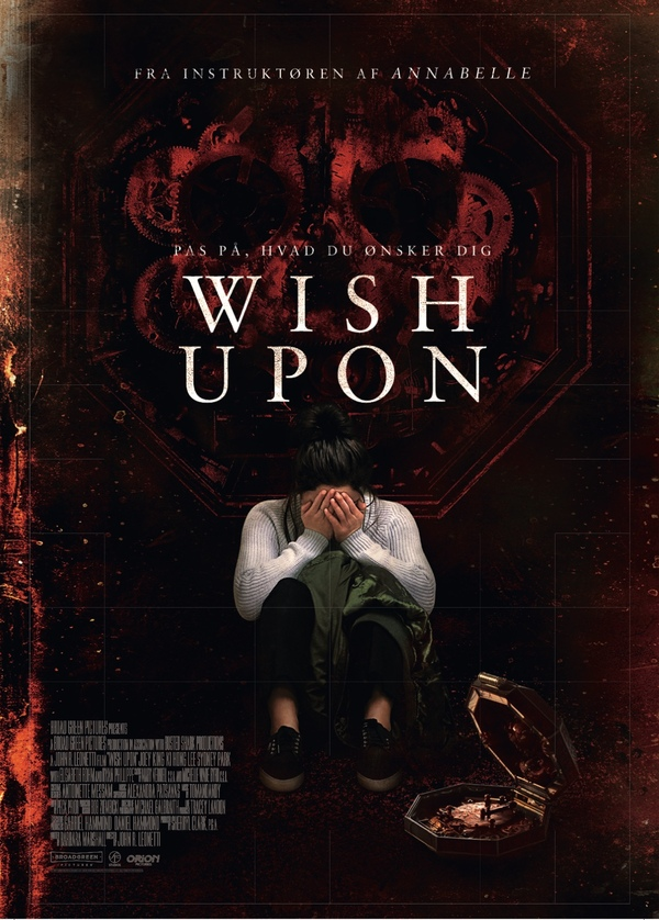 Wish Upon biograf poster