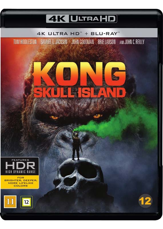 Kong Skull Island 4K cover