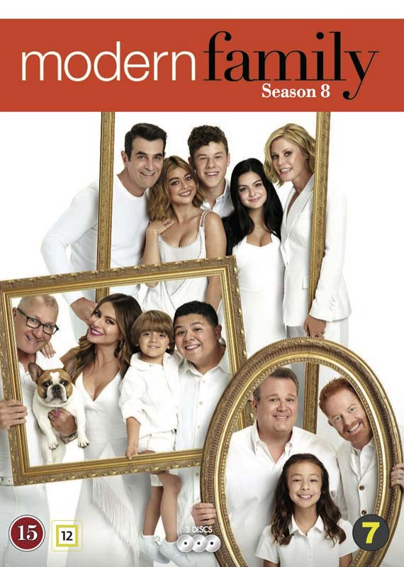 Modern Family Season 8 cover
