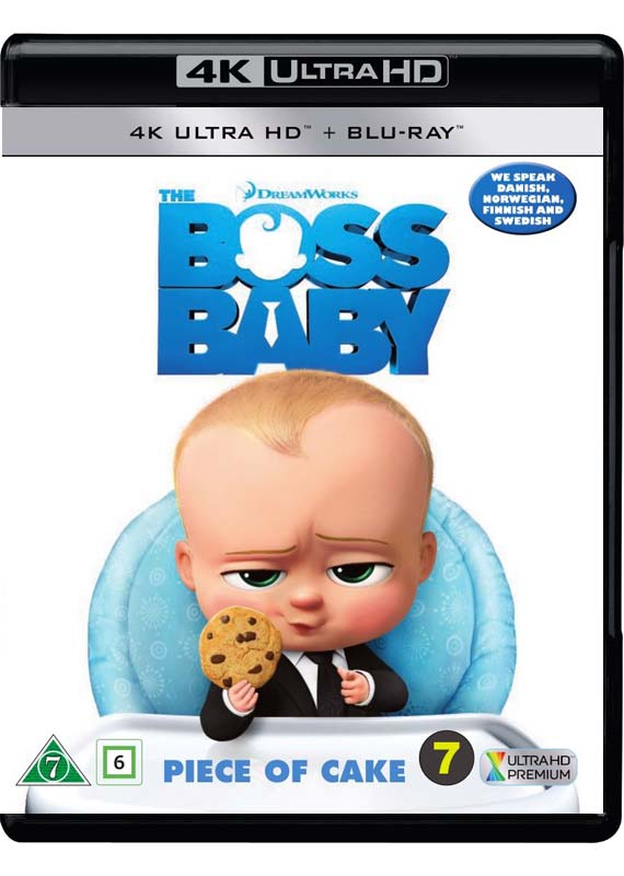 The Boss Baby 4k cover