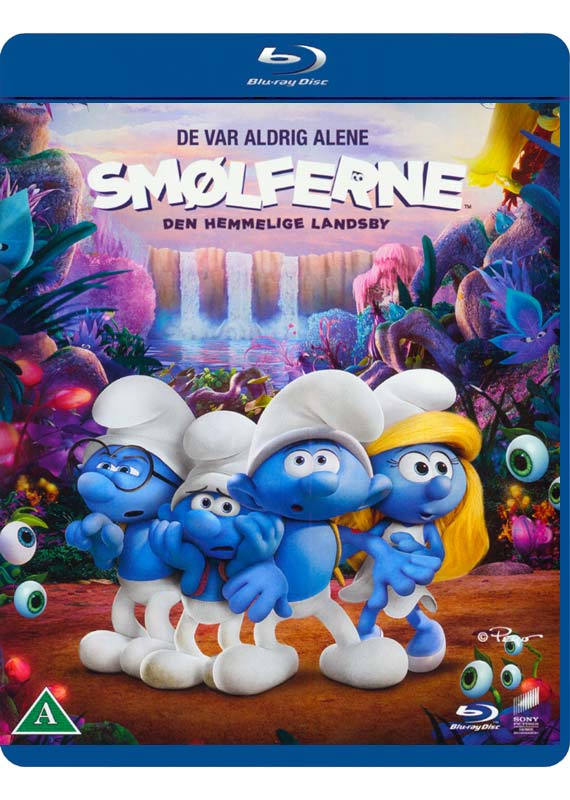 smurfs secret village cover