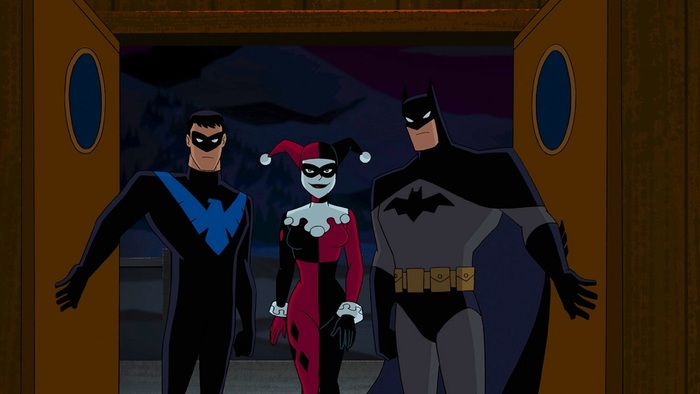 Batman and Harley Quinn blu-ray 01