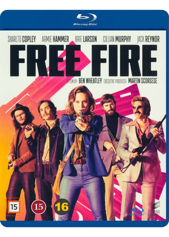 Freefire blu-ray cover