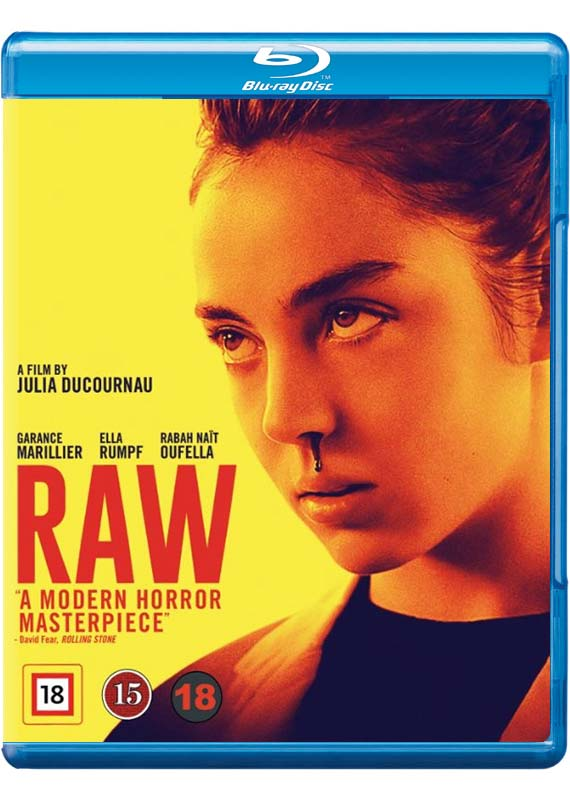 Raw Blu-ray cover