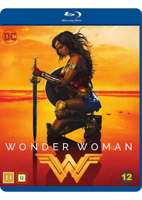 Wonder Woman Blu-ray cover