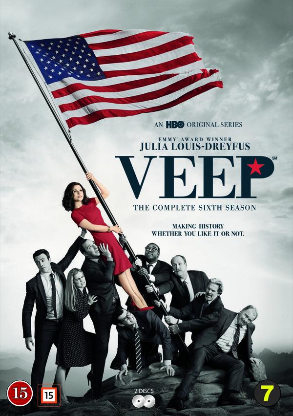 veep season 6 dvd cover