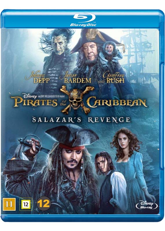 Pirates of the Caribbean 5 Salazars Revenge cover