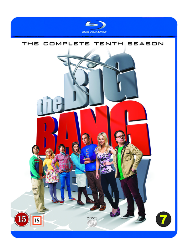 The Big Bang Theory season 10 cover