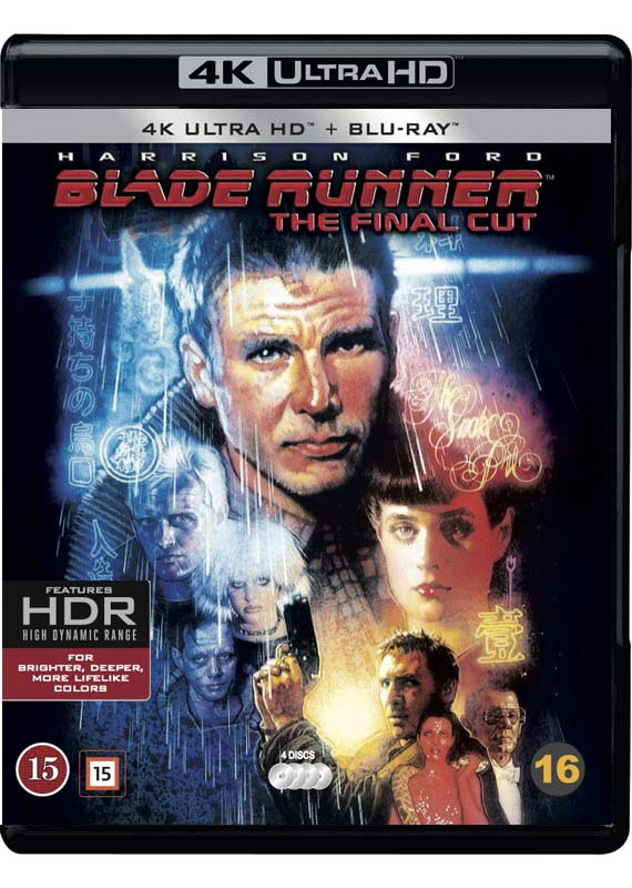 blade runner the final cut 4K ultra hd cover