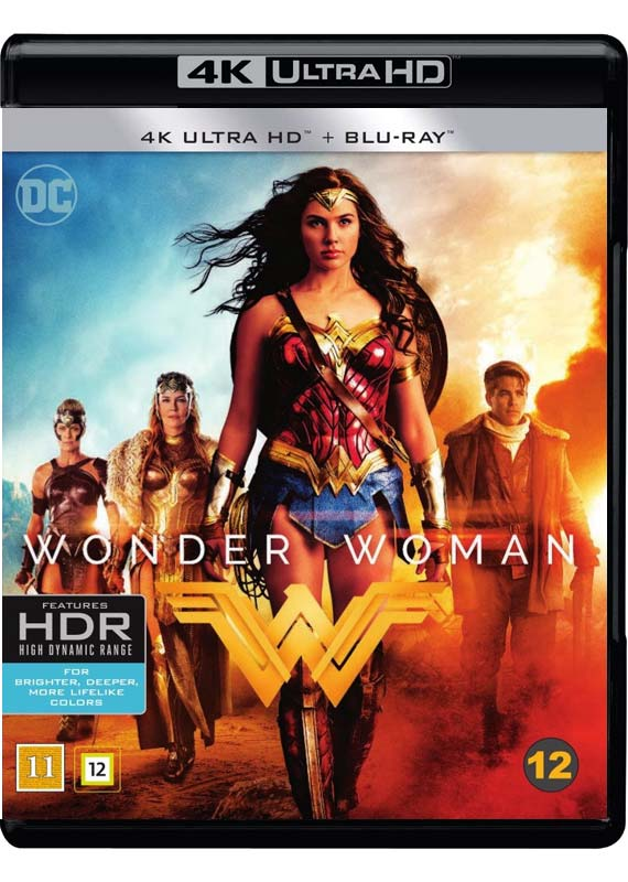 wonder woman 4k cover