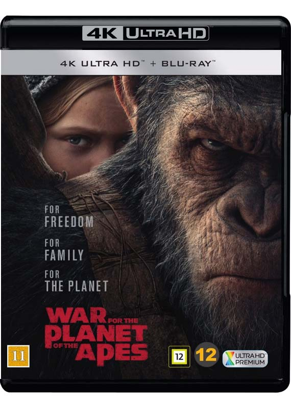 War for the Planet of the Apes cover