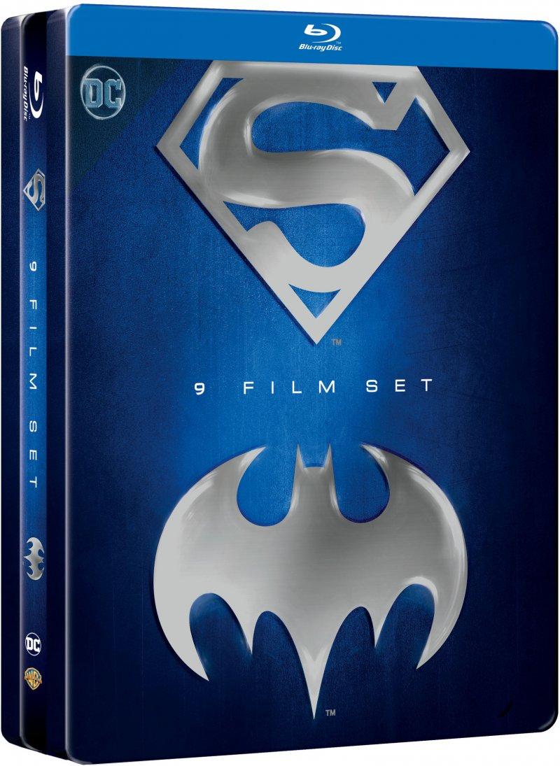 batman og superman 9 anthology boks